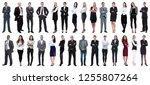 successful business people... | Shutterstock . vector #1255807264