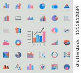 combined chart icon. charts  ...   Shutterstock .eps vector #1255812034