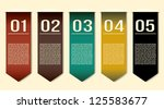 vector design template eps 10 | Shutterstock .eps vector #125583677