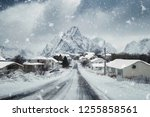 Snowy Town Rorbuer With...