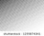 vintage dots background.... | Shutterstock .eps vector #1255874341