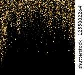 gold stars luxury sparkling... | Shutterstock .eps vector #1255882264