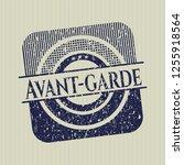 blue avant garde distress...   Shutterstock .eps vector #1255918564