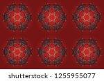 raster illustration. fine... | Shutterstock . vector #1255955077