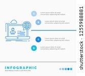 webinar  forum  online  seminar ... | Shutterstock .eps vector #1255988881