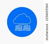 cloud  network  server ... | Shutterstock .eps vector #1256035564