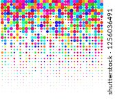 modern background of colored...   Shutterstock .eps vector #1256036491
