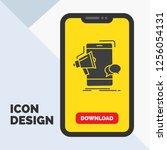 bullhorn  marketing  mobile ... | Shutterstock .eps vector #1256054131