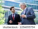 business people having a...   Shutterstock . vector #1256055754