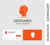 business logo template for... | Shutterstock .eps vector #1256062204
