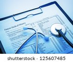 medical concept | Shutterstock . vector #125607485