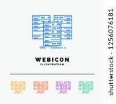 center  centre  data  database  ... | Shutterstock .eps vector #1256076181