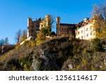 autumn view of the... | Shutterstock . vector #1256114617
