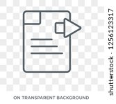 next page icon. next page... | Shutterstock .eps vector #1256123317
