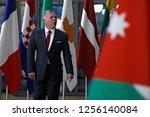 brussels  belgium. 12th dec....   Shutterstock . vector #1256140084