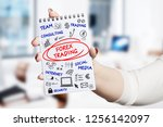 technology  internet  business... | Shutterstock . vector #1256142097