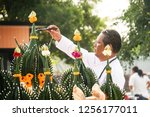 bangkok  thailand   11 09 2018  ... | Shutterstock . vector #1256177011