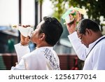 bangkok  thailand   11 09 2018  ... | Shutterstock . vector #1256177014
