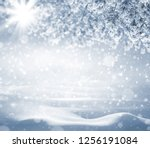 Winter Holiday Background....