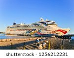 portland  maine united states   ... | Shutterstock . vector #1256212231