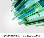 digital corporate concept... | Shutterstock .eps vector #1256226241