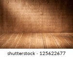wooden wall background with... | Shutterstock . vector #125622677