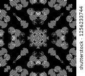seamless pattern handkerchief...   Shutterstock . vector #1256233744