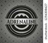 adrenaline dark emblem   Shutterstock .eps vector #1256308627