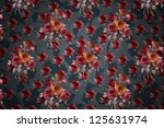 floral design background ... | Shutterstock . vector #125631974