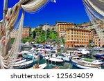 Colorful Camogli  Ligurian Coast