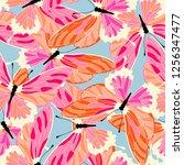 Butterfly Spring Pattern...