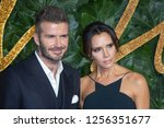 Small photo of David Beckham, victoria Beckham arrive at The Fashion Awards 2018 at the Royal Albert Hall on December 10, 2018 in London, England.