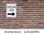 a modified one way sign... | Shutterstock . vector #125636981