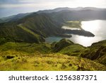 panoramic view point... | Shutterstock . vector #1256387371