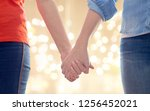 gay  lgbt and homosexuality... | Shutterstock . vector #1256452021