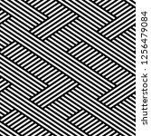 vector seamless texture. modern ... | Shutterstock .eps vector #1256479084