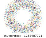 festival pattern with color... | Shutterstock .eps vector #1256487721