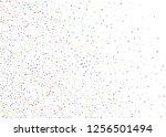 elegant pattern with polka dots ... | Shutterstock .eps vector #1256501494