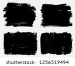 grunge design elements.grunge... | Shutterstock .eps vector #1256519494