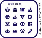 vector icons pack of 16 filled... | Shutterstock .eps vector #1256521117