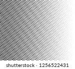 halftone background. fade... | Shutterstock .eps vector #1256522431