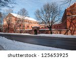"Bastion ""Grolman"" in Kaliningrad. Russia - stock photo"