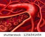 vector illustration.... | Shutterstock .eps vector #1256541454