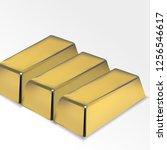Three Golden Bricks Illustration