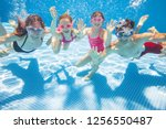 Underwater Photo Of Young...