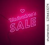 valentines day background....   Shutterstock .eps vector #1256613274