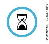 sands of time icon symbol.... | Shutterstock .eps vector #1256645041