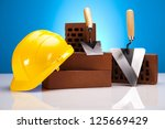 construction tool | Shutterstock . vector #125669429