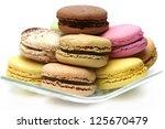macaroons | Shutterstock . vector #125670479