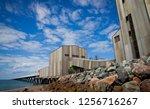 lucinda sugar jetty. 5.76 km...   Shutterstock . vector #1256716267